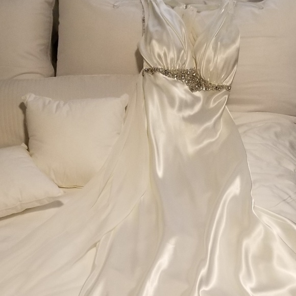 Alfred Angelo Dresses & Skirts - Niki Livas Designs Satin Wedding Gown